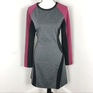 NEW View by Walter Baker Color Block Knit Dress 10